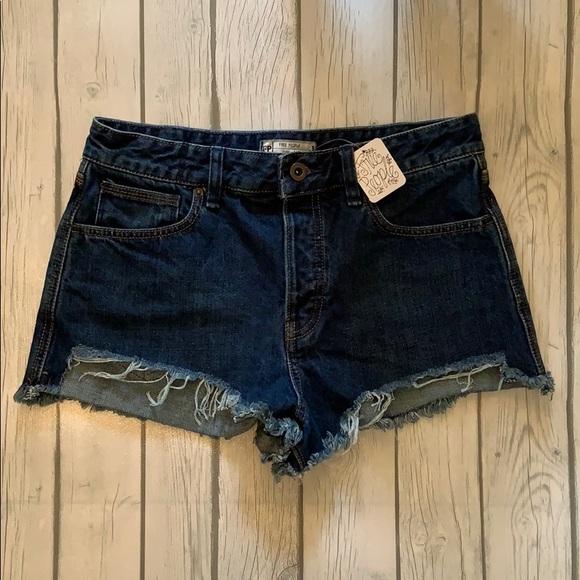 Free People Jean Shorts Size W29